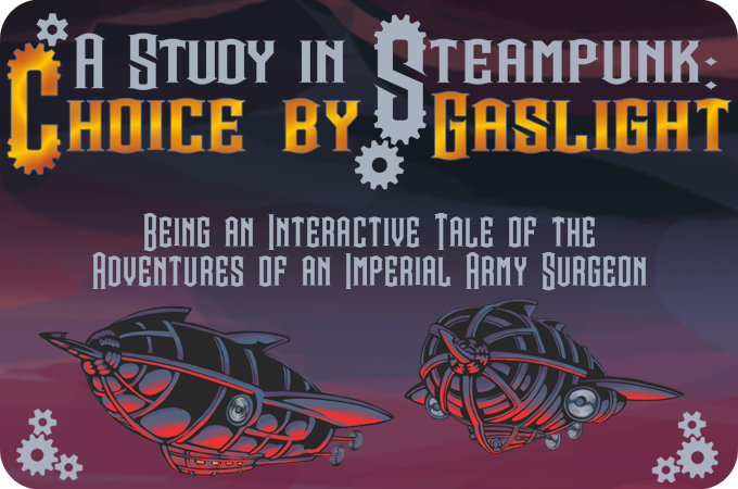 A Study In Steampunk Choice By Gaslight